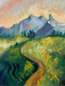 Tatoosh Range at Mt Rainier