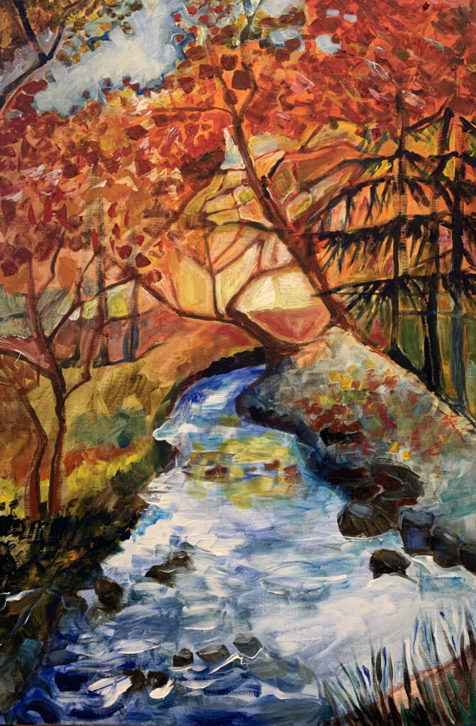 Copper Creek in the fall