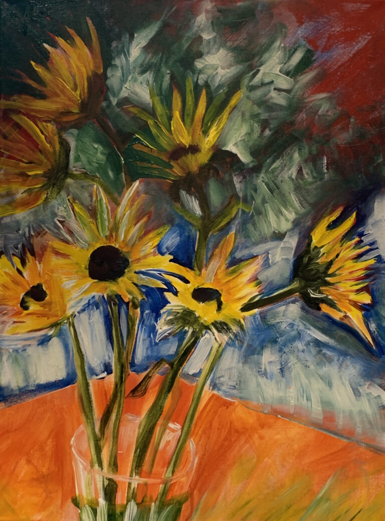Sunflowers from Sandy